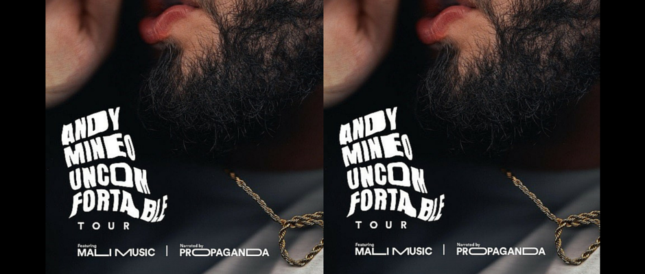 Andy Mineo Launches Uncomfortable Tour On October 1 The Digital